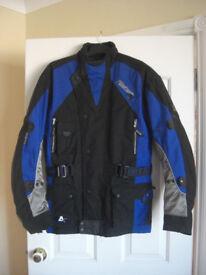 Akito Python Motorbike Jacket.