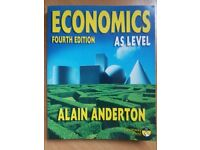 Economics AS LEVEL by Alain Anderton for sale