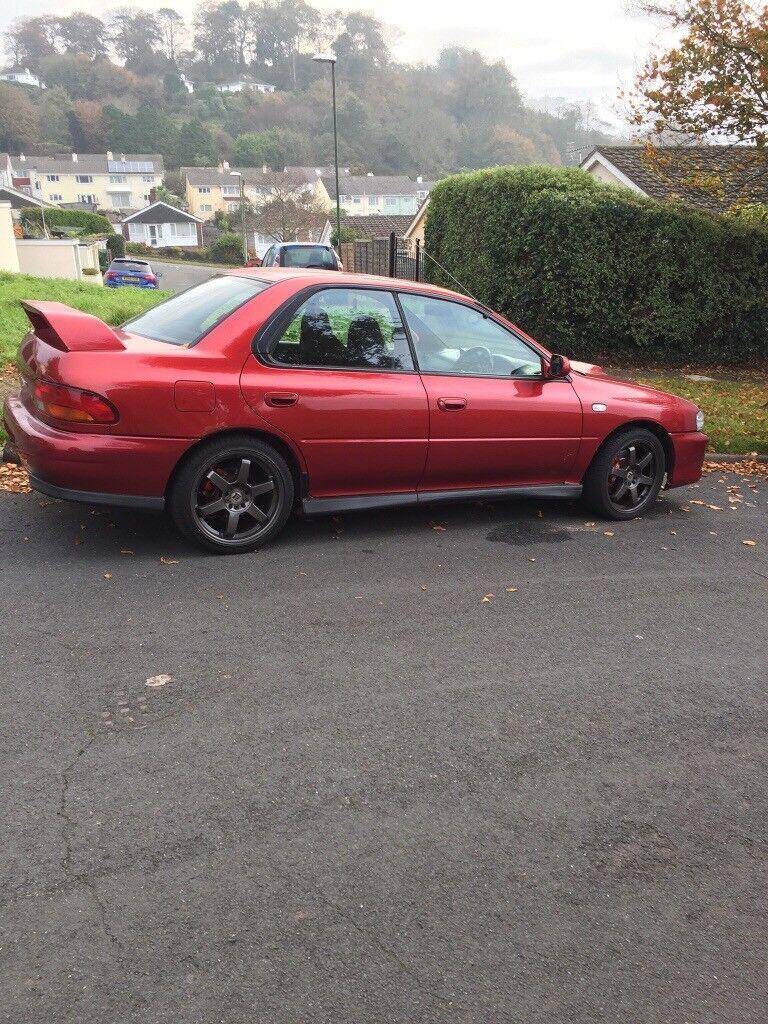 RARE Subaru Impreza wrx uk2000 spares or repairs