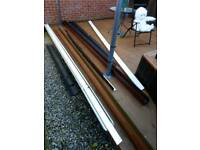 Gutter pvc various size and colour £5.00 each