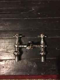 Georgian style bath and sink taps