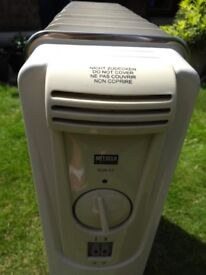 Melissa oil filled radiator, excellent condition