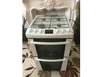 ZANUSSI 55CM DOUBLE OVEN GAS COOKER !