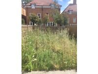 Service Gardens and wash pavements. North and North/West of London