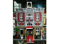 Lepin Fire Brigade modular building (like Lego 10197)