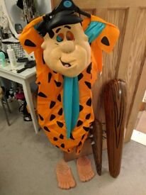 Fred Flinstone Fancy Dress Costume Small Mens The Flinstones Inc. Inflatable Clubs & Feet Rubies