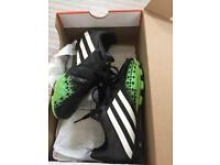 Adidas football boots odd sizes 13.5 & size 1
