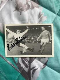 Bobby Robson hand signed