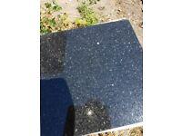 Black quarts sparkle floor wall tiles