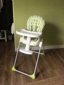Highchair, kiddicare, excellent condition