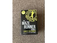 Original Maze Runner series unopened