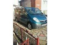 2011 Vauxhall vivaro wheelchair accessible vehicle 6 speed, 12mth mot
