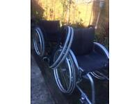 Adult wheelchairs.