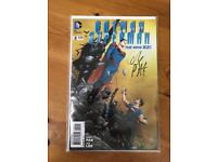 Batman Superman The New 52! Issue2 Signed By Greg Pak