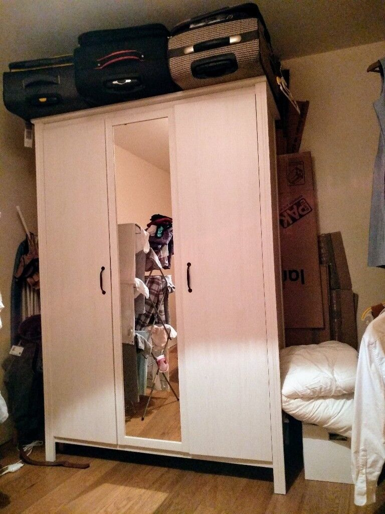 Ikea Wardrobe Songesand White In Harrow London Gumtree