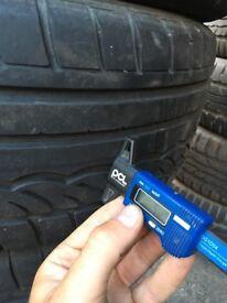 set of 4x DUNLOP SP SPORT 1 195/55-R15 car tyre
