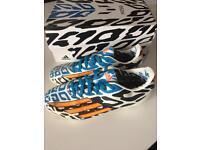 Boys adidas F10 Messi football boots size 3.5