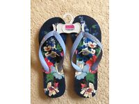 Brand New Joules Flip Flops size 37/38