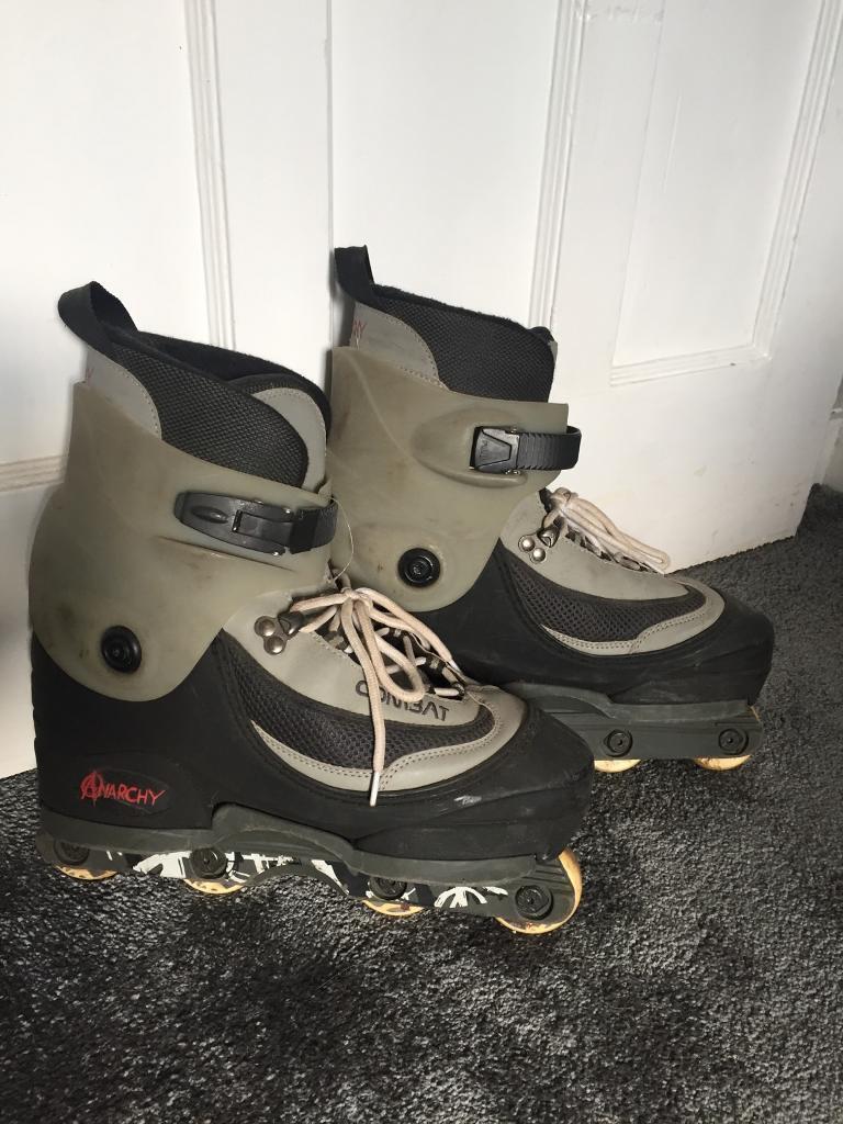 Anarchy combat inline skates size 10