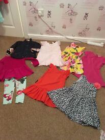 Bundle of girls clothing aged 4/5