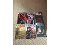 Collection of The Walking Dead comics - prices in description