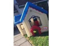 Bouncy castle and inflatable house