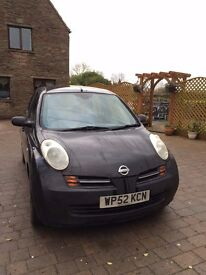 Nissan Micra 1.4 16v SVE 5dr. Low Mileage. Just had MOT and serviced.