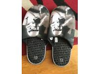 Storm trooper slippers size 11