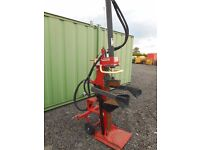 Log splitter wood cutter hydraulically operated