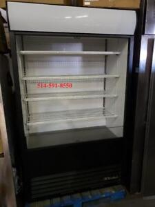 TRUE Frigo 4' ouvert Libre Service Grab and Go Fridge COMMERCIAL