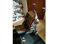 Mothercare buggy with raincover