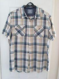Atlantic Bay Short Sleeve Check Shirt