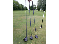 Jack Nicklaus Golden Bear Driver/Fairway Woods Set - Great Condition