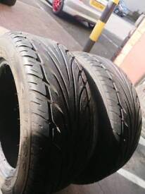 Full set x 4 225/55/16 tyres with 5mm+