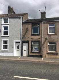 2 bed house to rent cleatormoor