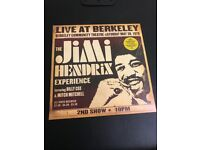 Jimi Hendrix live at Berkeley 2 x 180gram lps
