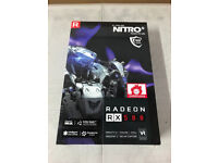 NEW Sapphire Nitro+ Radeon RX 580 OC 8GB GDDR5 Video Card