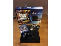 PlayStation 4 500gb W/ 2 Games, Controller + Leads
