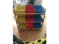 Kids storage unit used but good condition