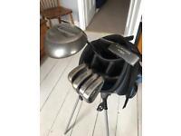 Wilson Pro Staff Golf Clubs & bag