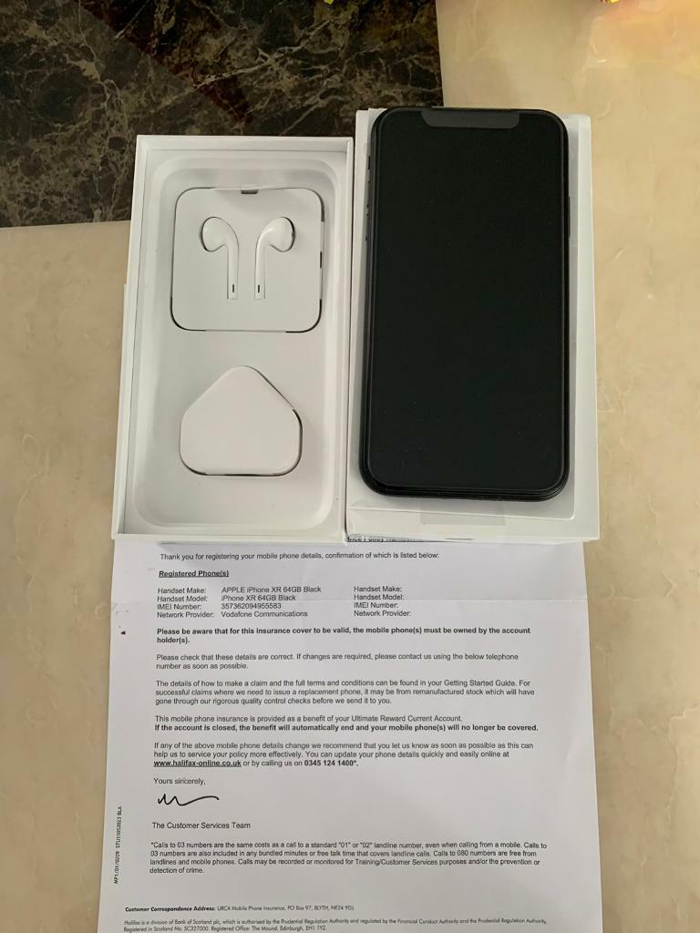 Apple iPhone XR 64GB Black New Unlocked with receipt £600 | in Southampton,  Hampshire | Gumtree