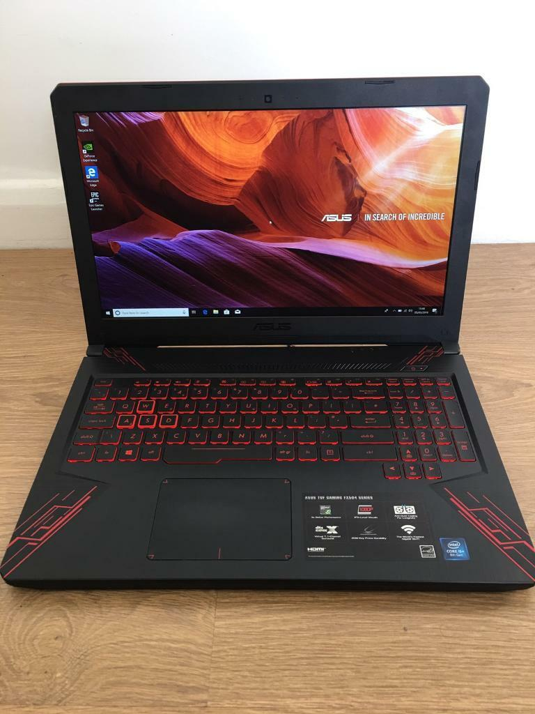 ASUS TUF FX504 Intel i5 8300H/Nvidia GeForce GTX 1050 4GB/8GB Ram  2666MHz/1TB HDD Gaming Lapotp | in Warrington, Cheshire | Gumtree