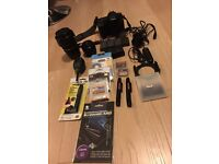 Canon 50D SLR camera with two lenses 17-85mm and 50mm and all accessories