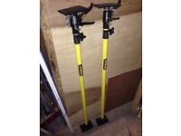 2 x Unused Stanley STA105932 Telescopic Drywall Support