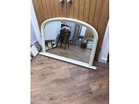 REDUCED Large Mantle Wall Mirror