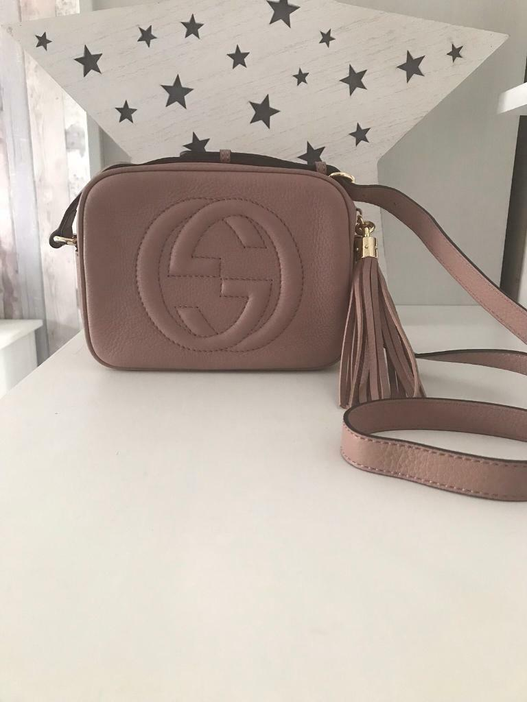 3d6a99e069b9 Nude blush pink Gucci soho disco bag | in Motherwell, North ...