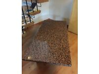Granite Topped Coffee Table