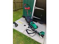 Petrol strimmer and lawnmowers must go