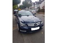 Mercedes C250 Coupe AMG Full Mercedes Service History Command 50 Bluetooth Navigation Heated Seats