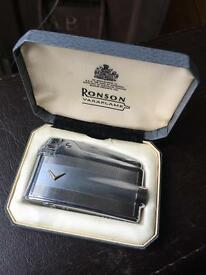 Ronson lighter Varaflame in box working